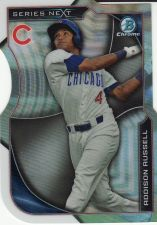 Buy 2015 Bowman Chrome Series Next Die Cuts #SN-AR - Addison Russell - Cubs