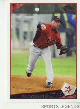 Buy 2009 Topps #618 Brandon Backe