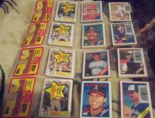 Buy 1988 TOPPS 22 RACK PACKS NEW SEALED