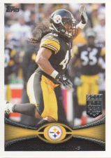 Buy 2012 topps #10 troy polamalu