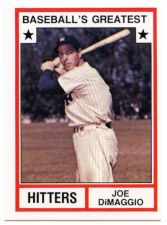 Buy 1982 tcma greatest hitters #3 joe dimaggio