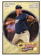 Buy 2008 Upper Deck Heroes #145 - Greg Maddux - Padres