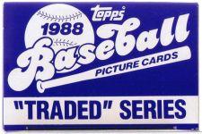 Buy 1988 TOPPS BASEBALL TRADED SET SET IS MINT