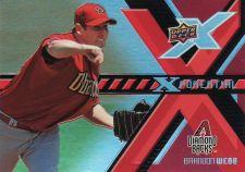 Buy 2008 Upper Deck X Xponential #X-BW -Brandon Webb - Diamondbacks