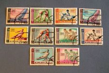 "Buy 1965 Ajman ""18th Olympic Games -Tokyo"" Stamps"