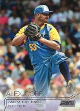 Buy 2015 Stadium Club #100 - Alex Cobb - Rays