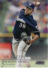 Buy 2015 Stadium Club #86 - Wily Peralta - Brewers