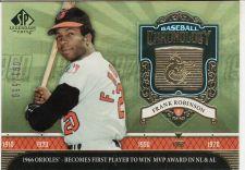 Buy 2006 SP Legendary Cuts Baseball Chronology Gold #BC-FR - Frank Robinson - Orioles