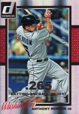 Buy 2014 Donruss Stat Line Season #354 - Anthony Rendon - Nationals