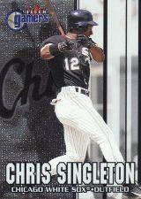 Buy 2000 Fleer Gamers #7 - Chris Singleton - White Sox