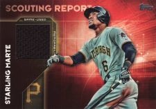 Buy 2016 Topps Scouting Report Relics #SRR-SMA - Starling Marte - Pirates
