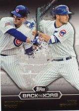 Buy 2016 Topps Back To Back #2 - Anthony Rizzo - Kris Bryant - Cubs