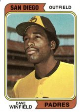 Buy 2016 Topps Berger's Best #BB-23 - Dave Winfield - Padres