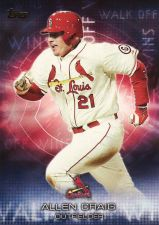 Buy 2016 Topps Walk Off Wins #WOW-8 - Allen Craig - Cardinals
