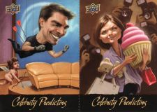 Buy 2010 Upper Deck Celebrity Predictors #CP-7, CP-8 - Tom Cruise - Katie Holmes