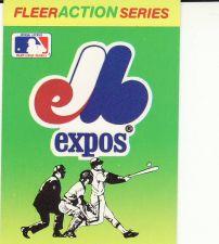 Buy 1990 Fleer Team Stickers - Montreal Expos