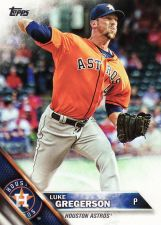 Buy 2016 Topps #243 - Luke Gregerson - Astros