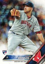 Buy 2016 Topps #191 - Brian Johnson - Red Sox