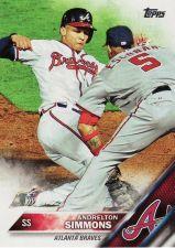 Buy 2016 Topps 183 - Andrelton Simmons - Braves