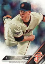 Buy 2016 Topps #171 - Matt Cain - Giants