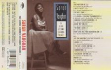 Buy SARAH VAUGHAN THE GEORGE GERSHWIN SONGBOOK VOL 2