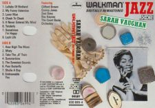 Buy SARAH VAUGHAN WALKMAN JAZZ