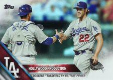Buy 2016 Topps Rainbow Foil #24 - Clayton Kershaw - Yasmani Grandal - Dodgers