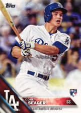 Buy 2016 Topps #85 - Corey Seager - Dodgers