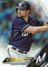 Buy 2016 Topps Rainbow Foil #57 - Adam Lind - Brewers