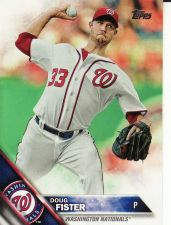 Buy 2016 Topps #102 - Doug Fister - Nationals