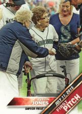 Buy 2016 Topps First Pitch #FP-5 - Evelyn Jones - Mariners