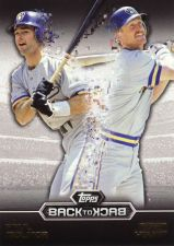 Buy 2016 Topps Back To Back #B2B-8 - Paul Molitor, Robin Yount - Brewers