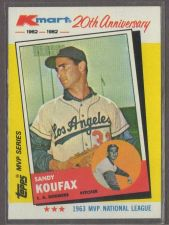 Buy SANDY KOUFAX KMART 20TH ANNIVERSARY #4