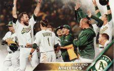 Buy 2016 Topps #198 - Oakland Athletics