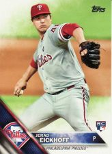 Buy 2016 Topps #2 - Jerad Eickhoff - Phillies