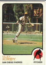 Buy 1973 Topps #655 - Clay Kirby - Padres