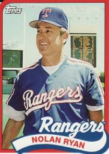 Buy 2014 Topps '89 Topps Die Cut Mini #TM-9 - Nolan Ryan - Rangers