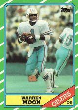 Buy 1986 Topps #350 - Warren Moon - Oilers