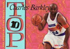 Buy 1995-96 Hoops Top Ten #AR8 - Charles Barkley - Suns