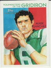 Buy 2009 National Chicle Youngsters Of The Gridiron #YG1 - Mark Sanchez - Jets
