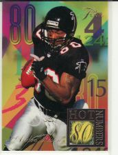 Buy 1994 Ultra Flair Hot Numbers #10 - Andre Rison - Falcons