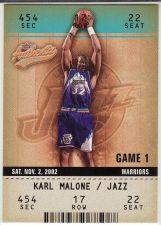 Buy 2002-03 Fleer Authentix #27 - Karl Malone - Jazz