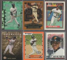 Buy BARRY BONDS 16 CARD LOT
