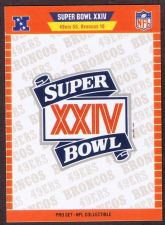 Buy 1990 PRO SET SUPER BOWL MVP'S 25 CARD SET CARDS ARE NM/M ( PACK FRESH )