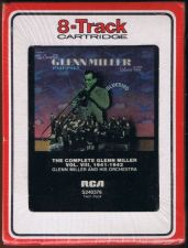 Buy GLENN MILLER THE COMPLETE GLENN MILLER VOL.VIII 1941/1942 8 TRACK TAPE SEALED