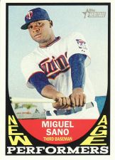 Buy 2016 Topps Heritage New Age Performers #NAP-MSA - Miguel Sano - Twins