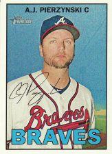 Buy 2016 Topps Heritage #193 - A.J. Pierzynski - Braves