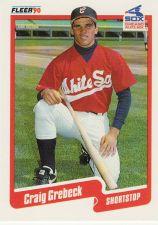Buy 1990 Fleer Update #U-85 - Craig Grebeck - White Sox