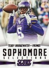 Buy 2015 Score Sophmore Selections #15 - Teddy Bridhewater - Vikings