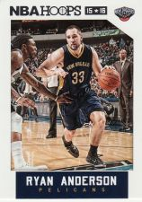 Buy 2015-16 Hoops #158 - Ryan Anderson - Pelicans